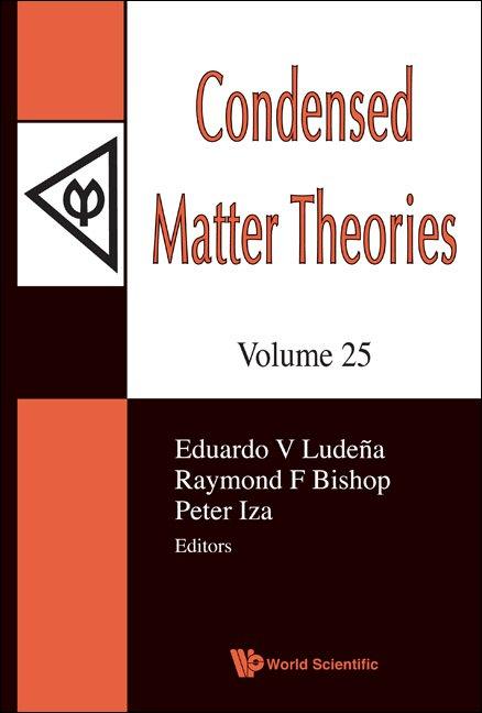 Condensed Matter Theories