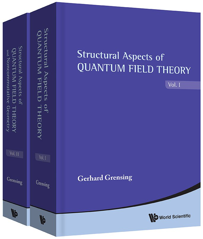 Structural Aspects of Quantum Field Theory and Noncommutative Geometry